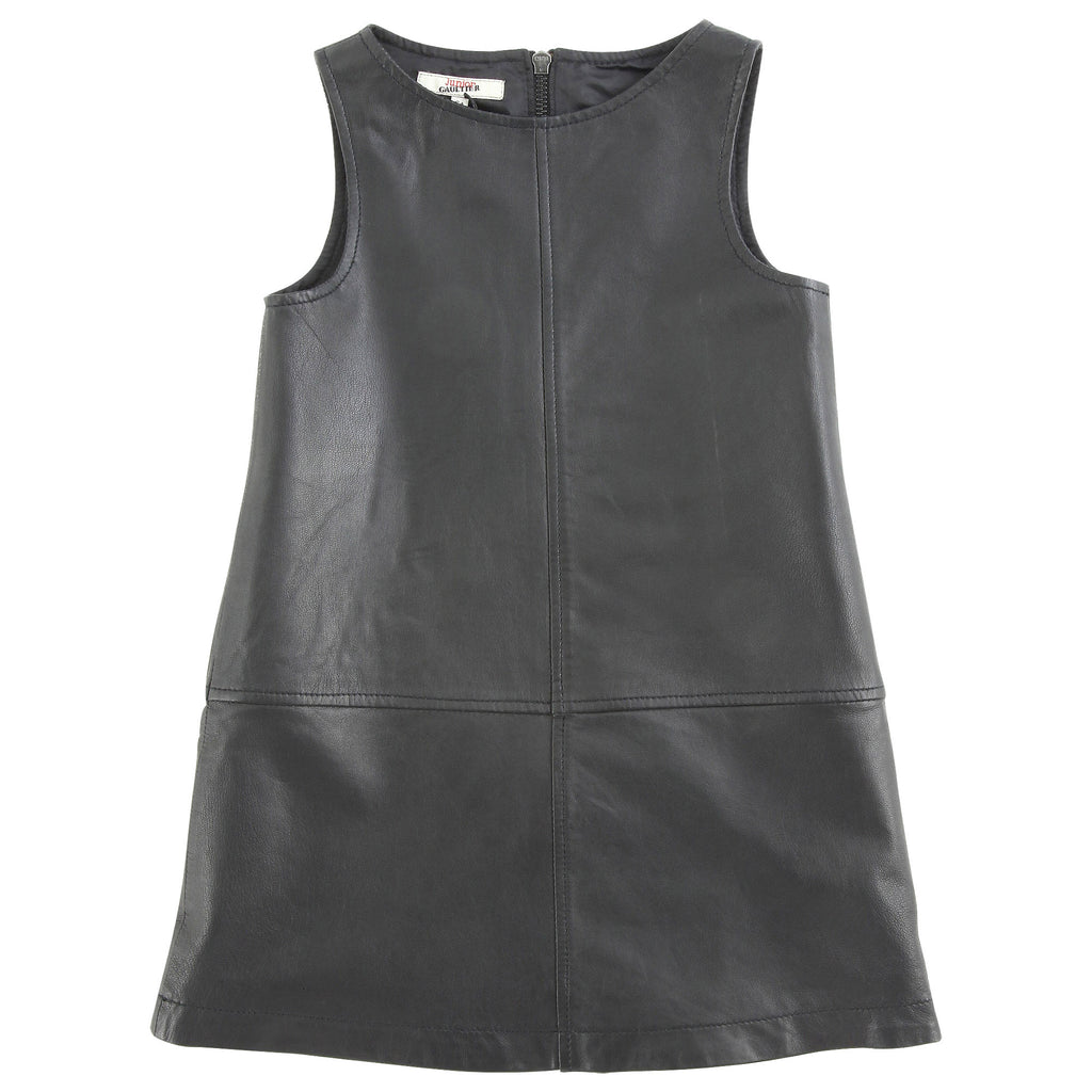 Junior Gaultier Faux Leather Dress