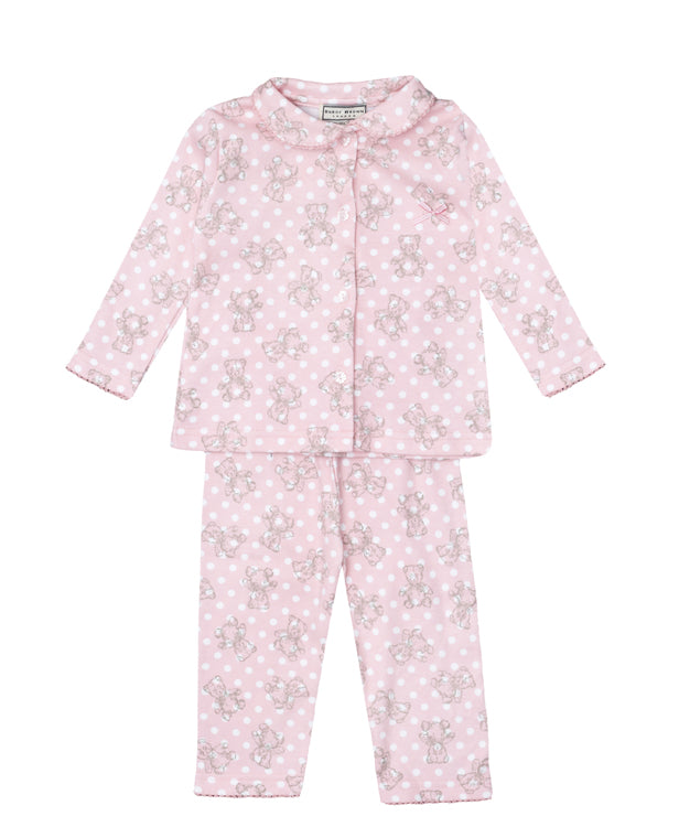 Darcy Brown Teddie and Spots Pjs - Children's Fashion Outlet
