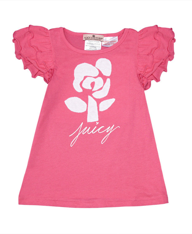 Juicy Frilled Sleeve Top and Leggings