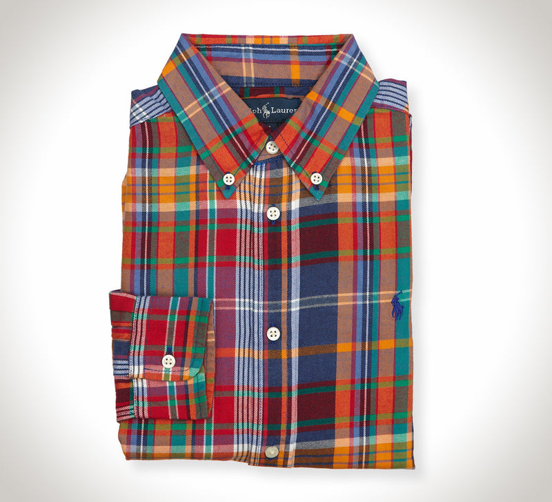 Ralph Lauren Twill Plaid Shirt