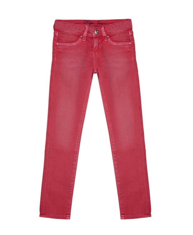 Pepe Red Girls Jeans