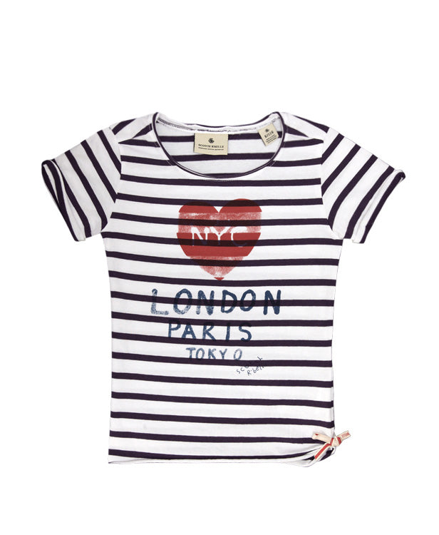 Scotch R'Belle Striped T-Shirt