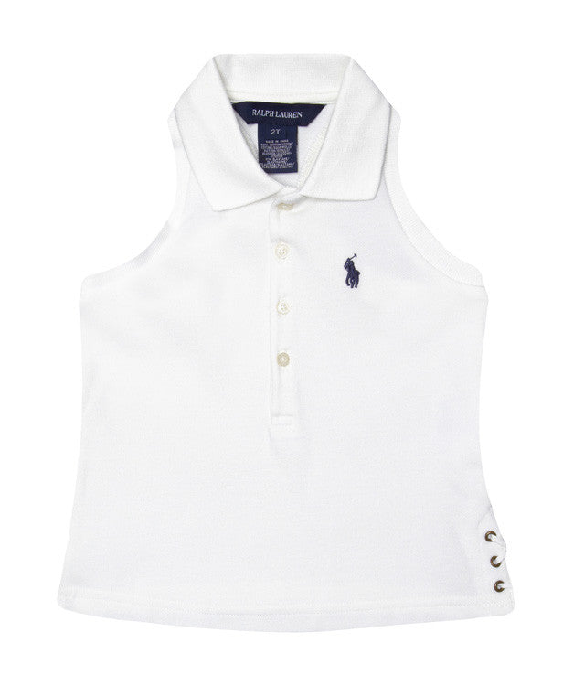 Ralph Lauren Sleeveless Polo Top