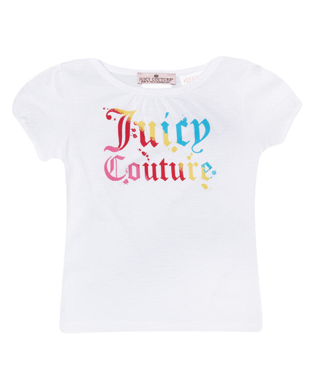 Baby Girl Juicy T-Shirt - Children's Fashion Outlet