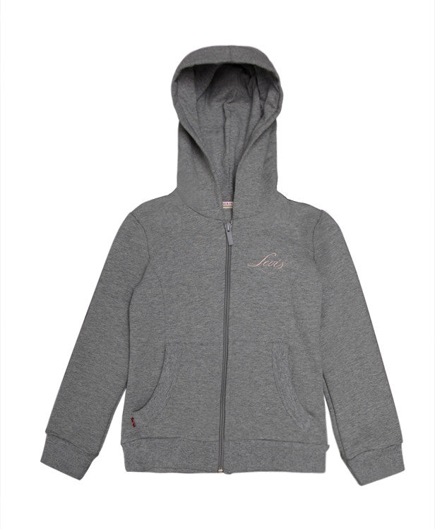 Levi's Girls Track Top (Grey and Black)