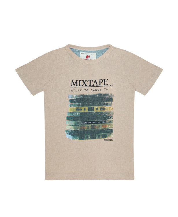 American Outfitters Mixtape T-Shirt - Children's Fashion Outlet