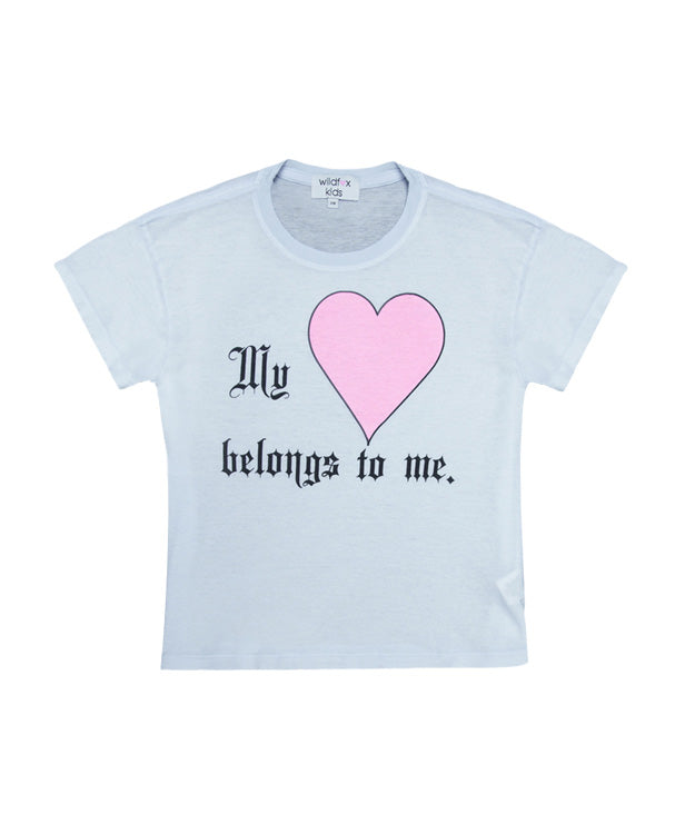 Wildfox My Heart Belongs to Me T-Shirt
