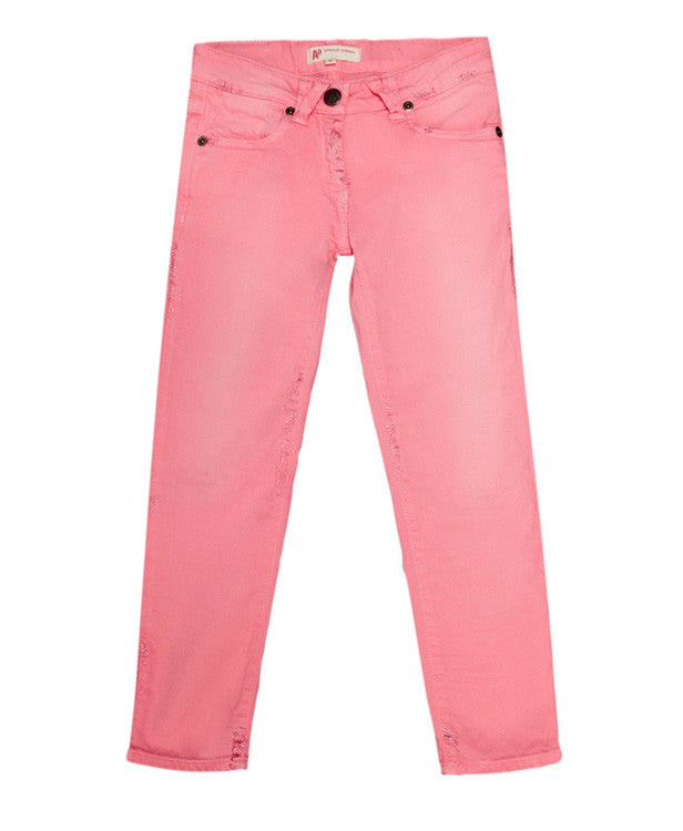 American Outfitters Skinny Bright Pink Jeans - Children's Fashion Outlet