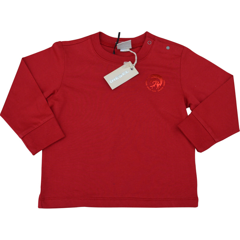 Diesel Baby Truslab Long Sleeved T-Shirt - Children's Fashion Outlet