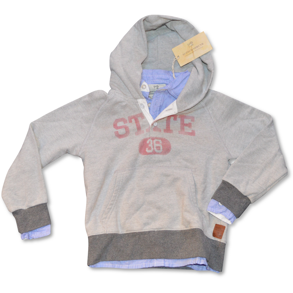 Scotch Shrunk Hoodie with Inner Shirt