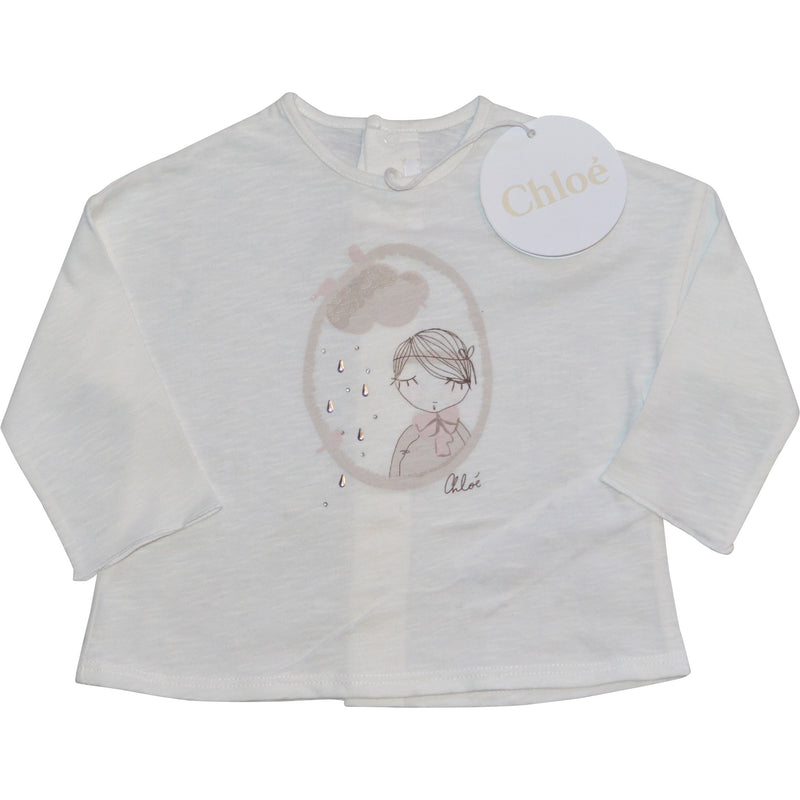 Chloe Long Sleeved Top - Children's Fashion Outlet