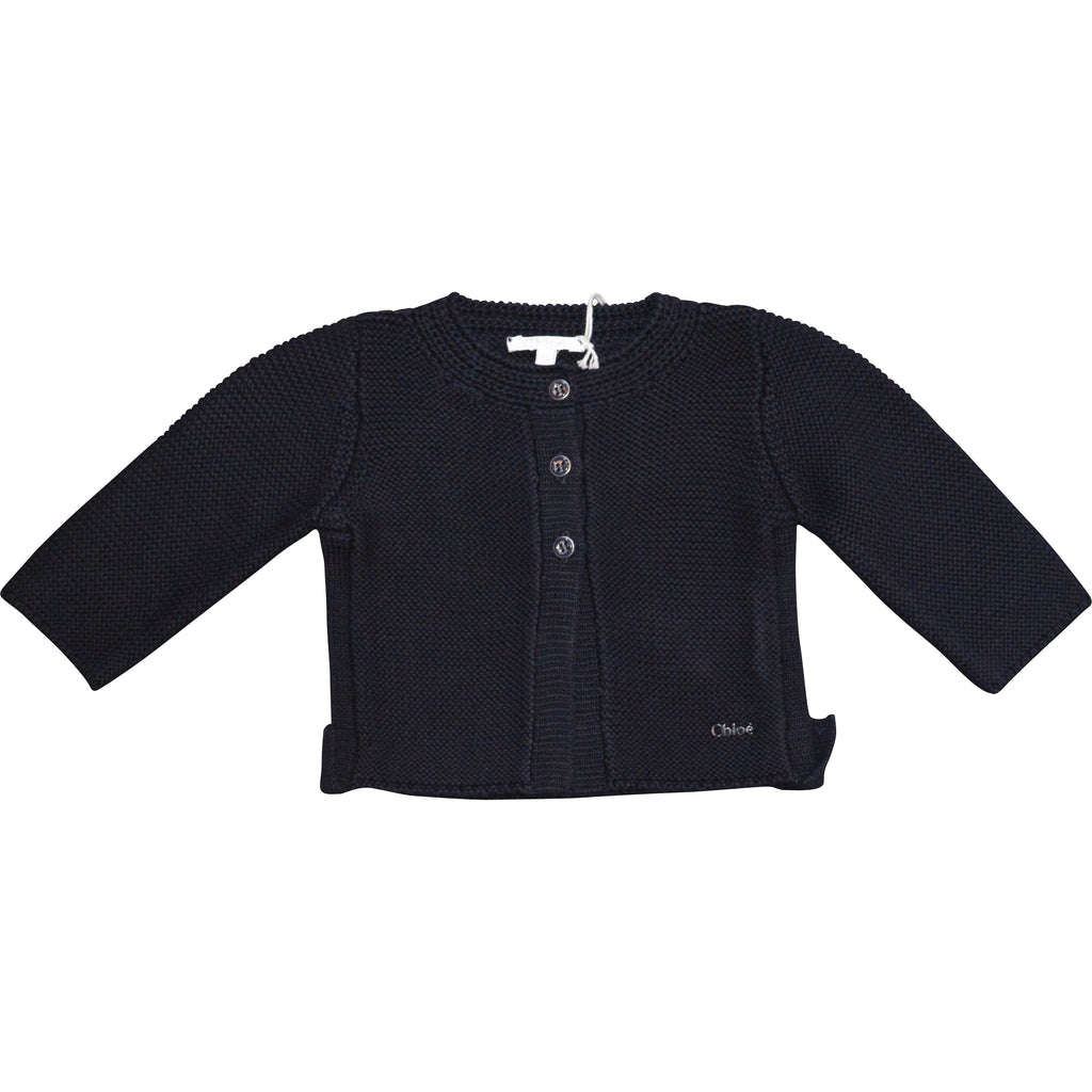 Chloe Navy Cardigan - Children's Fashion Outlet
