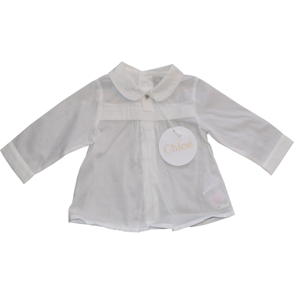 Chloe Long Sleeved Diamonte Blouse - Children's Fashion Outlet