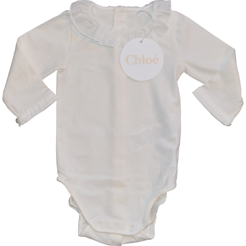 Chloe Long Frilled Neck Blouse - Children's Fashion Outlet