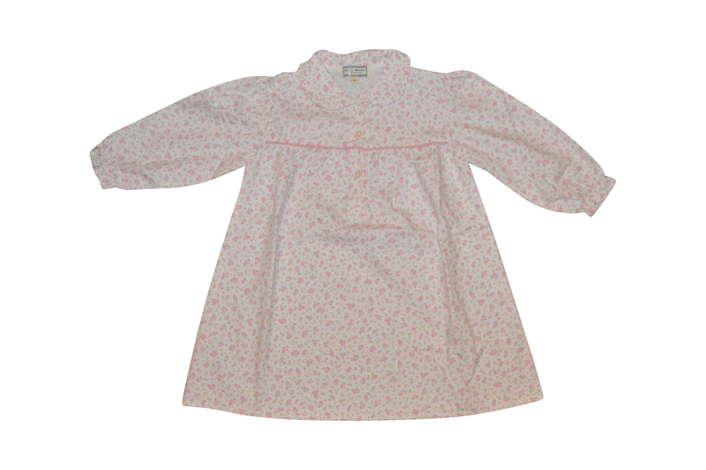 Darcy Brown Flowered Nightdress - Children's Fashion Outlet