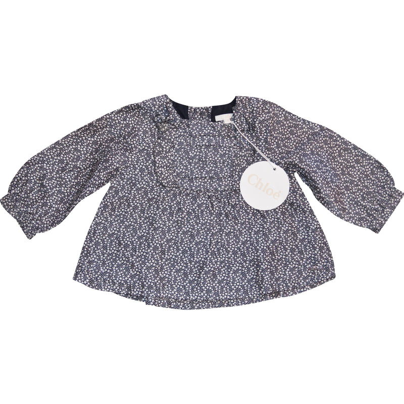 Chloe Long Sleeved Tunic Top - Children's Fashion Outlet
