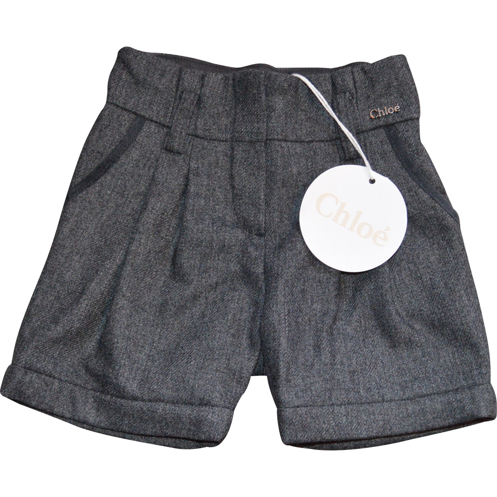 Chloe Grey Shorts - Children's Fashion Outlet