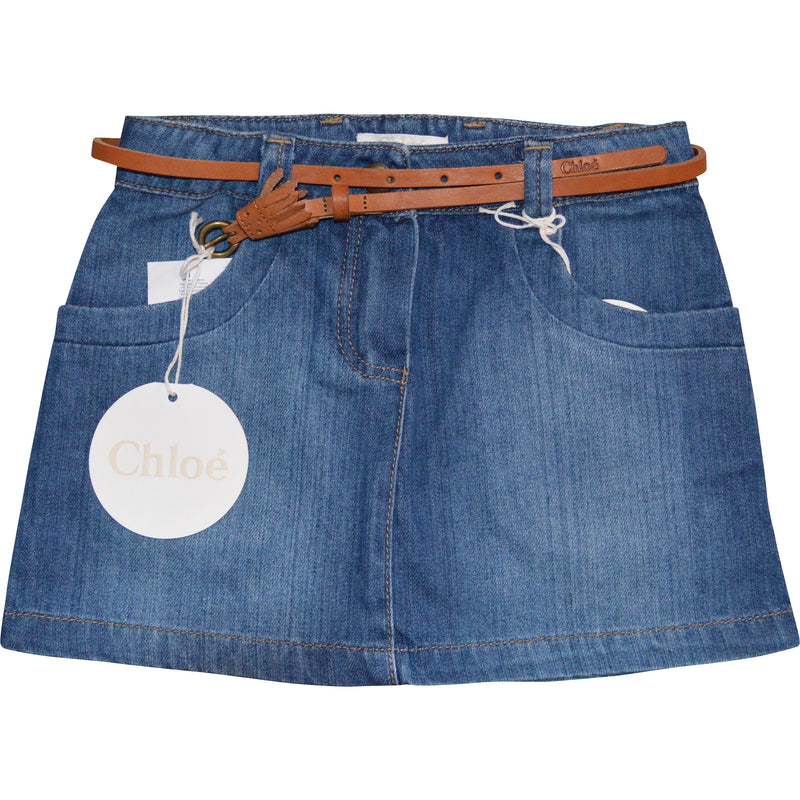 Chloe Denim Skirt - Children's Fashion Outlet