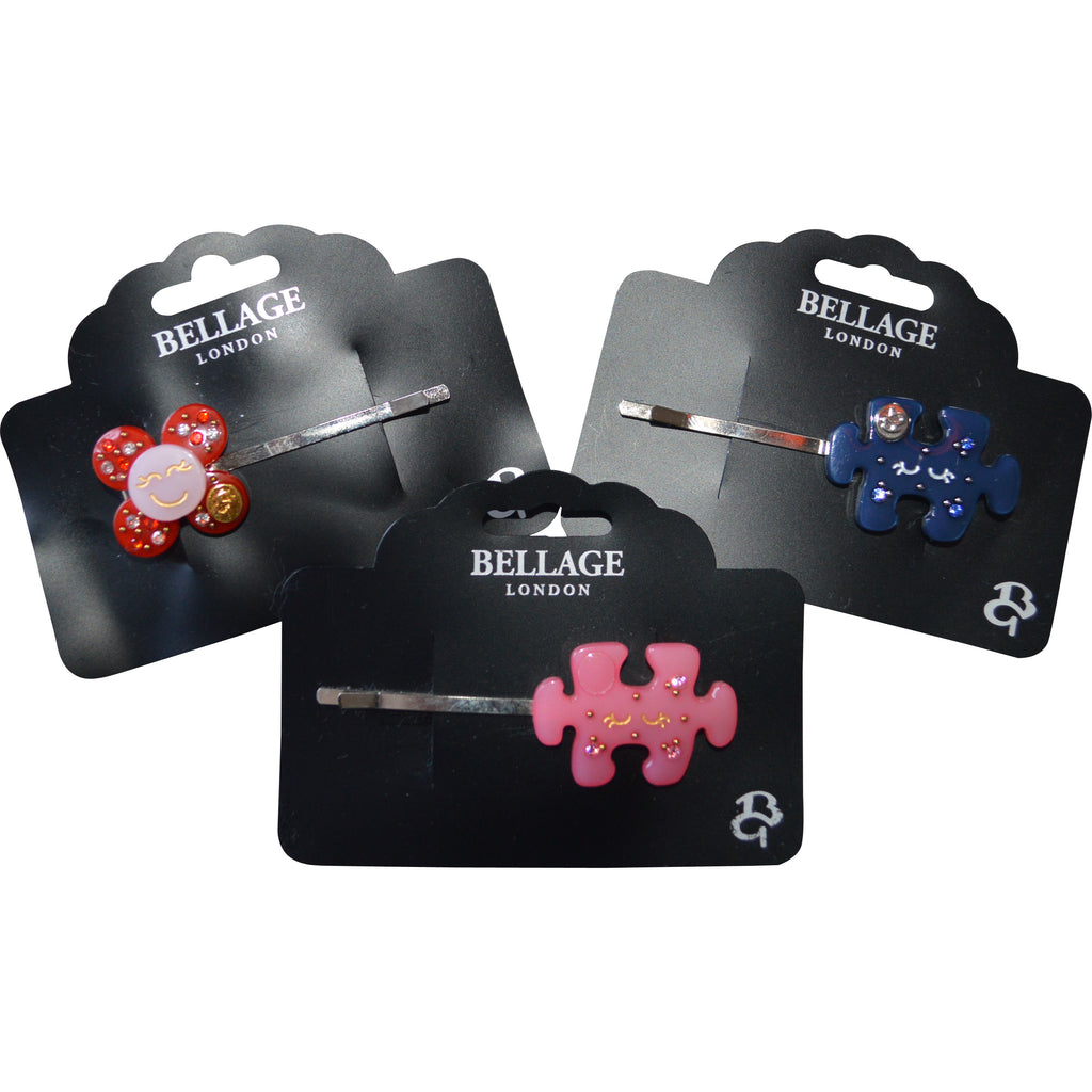 Bellage Hair Grips with Swarovski Crystals - Children's Fashion Outlet