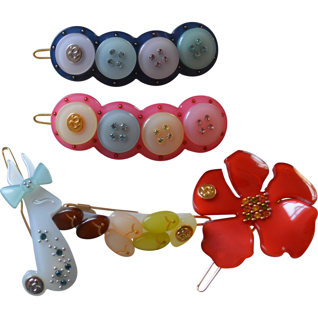 Bellage Hair Clips with Swarovski Crystals - Children's Fashion Outlet