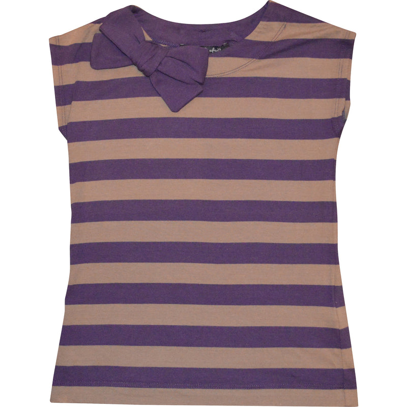 Lili Gaufrette Purple Stripe Top