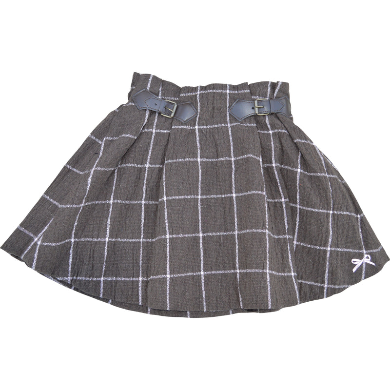 Lili Gaufrette Checked Skirt (Various Colours)