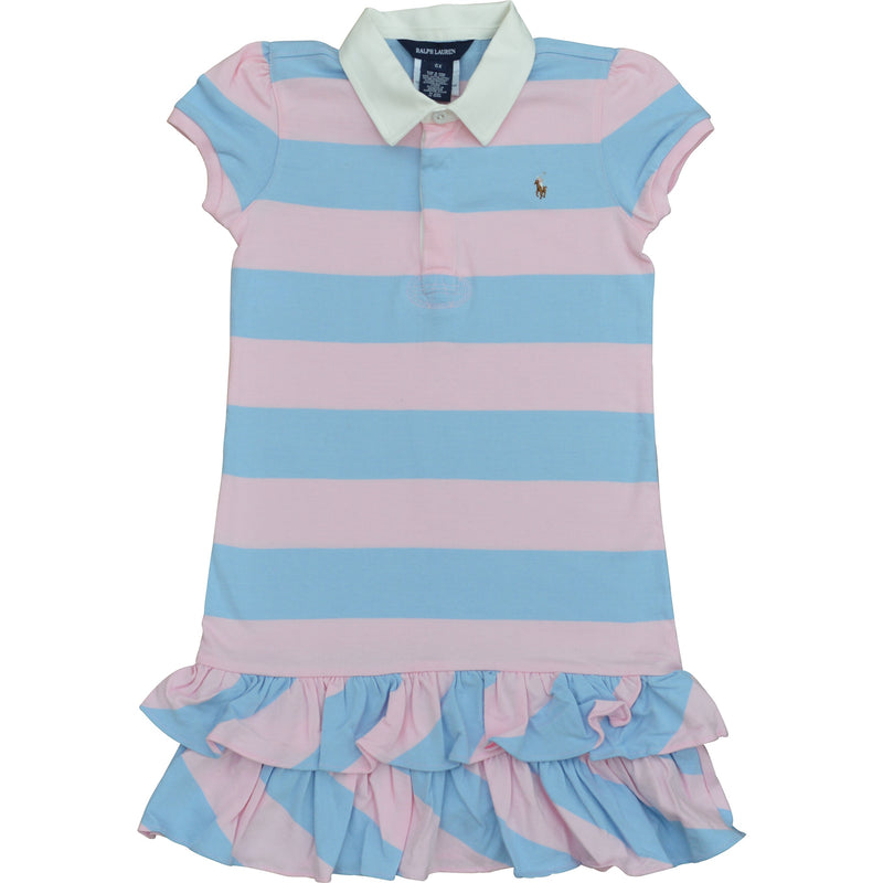 Ralph Lauren Baby Striped Polo Dress