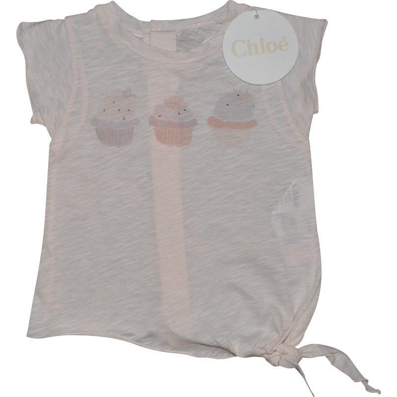 Chloe Short Sleeved Ice Cream T-Shirt - Children's Fashion Outlet