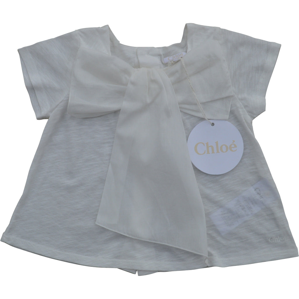 Chloe Baby Summer Bow Top - Children's Fashion Outlet