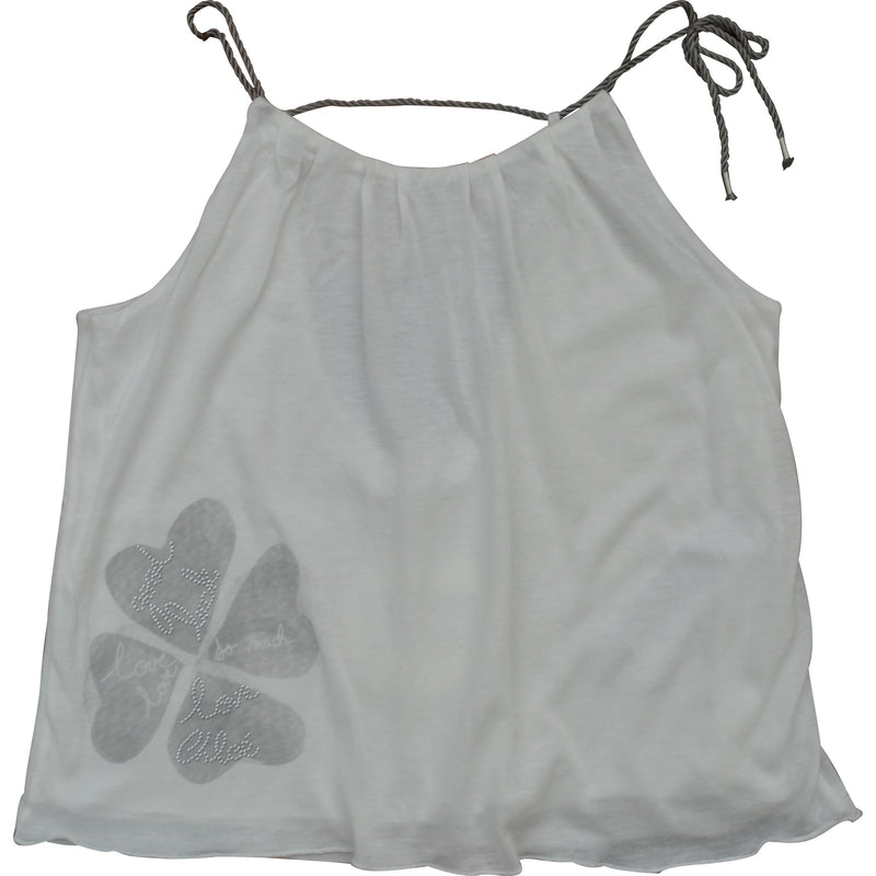 Chloe String Tie Summer Top - Children's Fashion Outlet