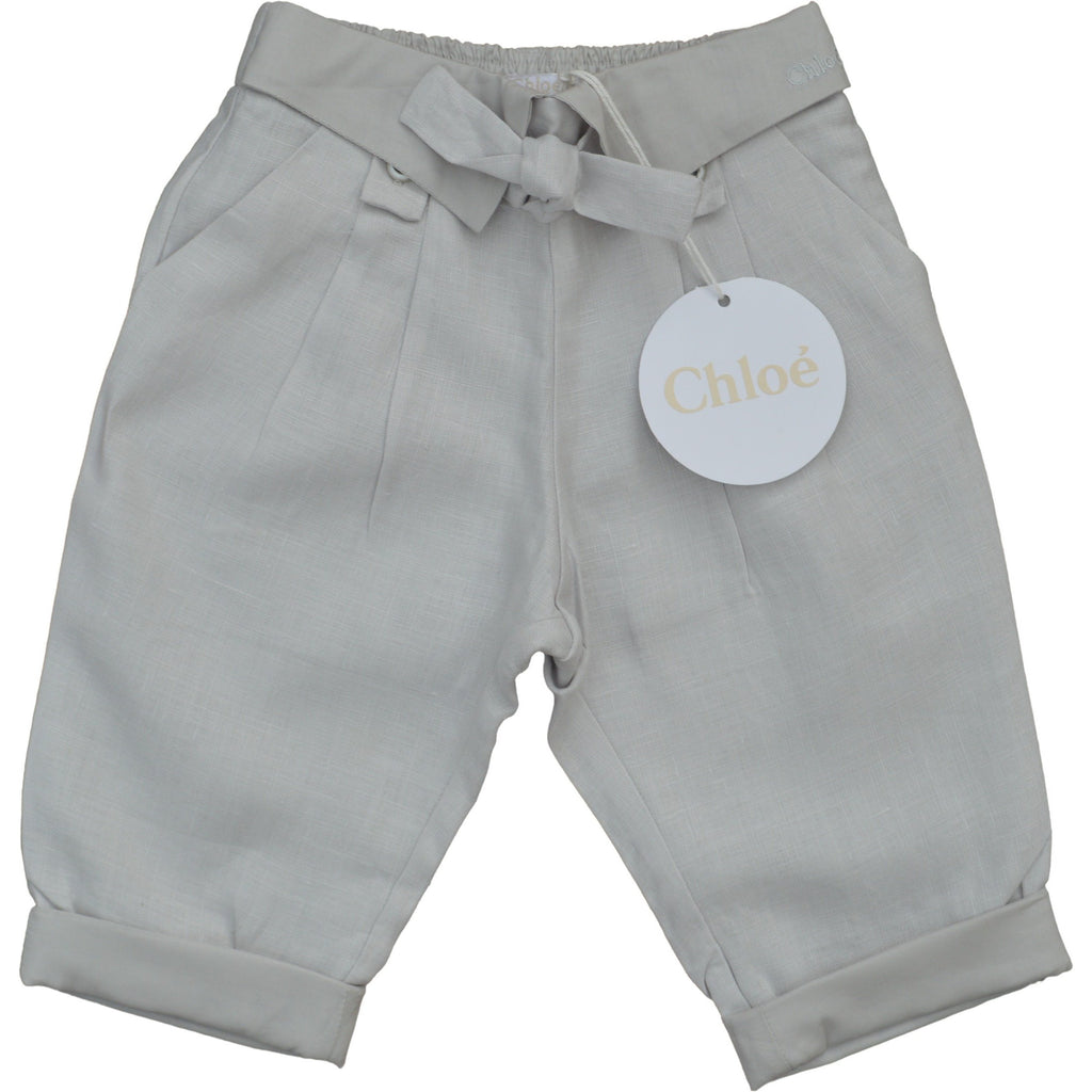 Chloe Linen Trousers - Children's Fashion Outlet