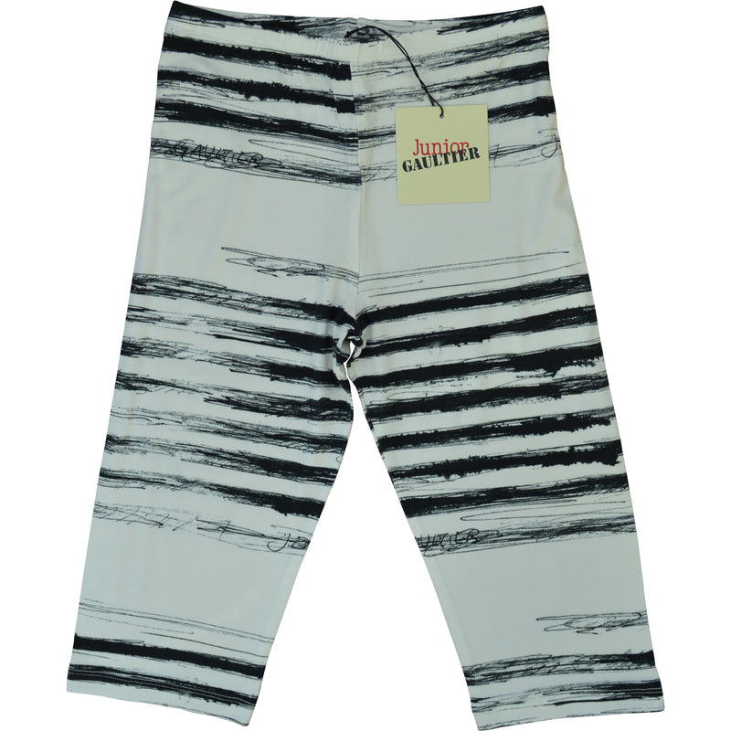 Junior Gaultier Striped Leggings
