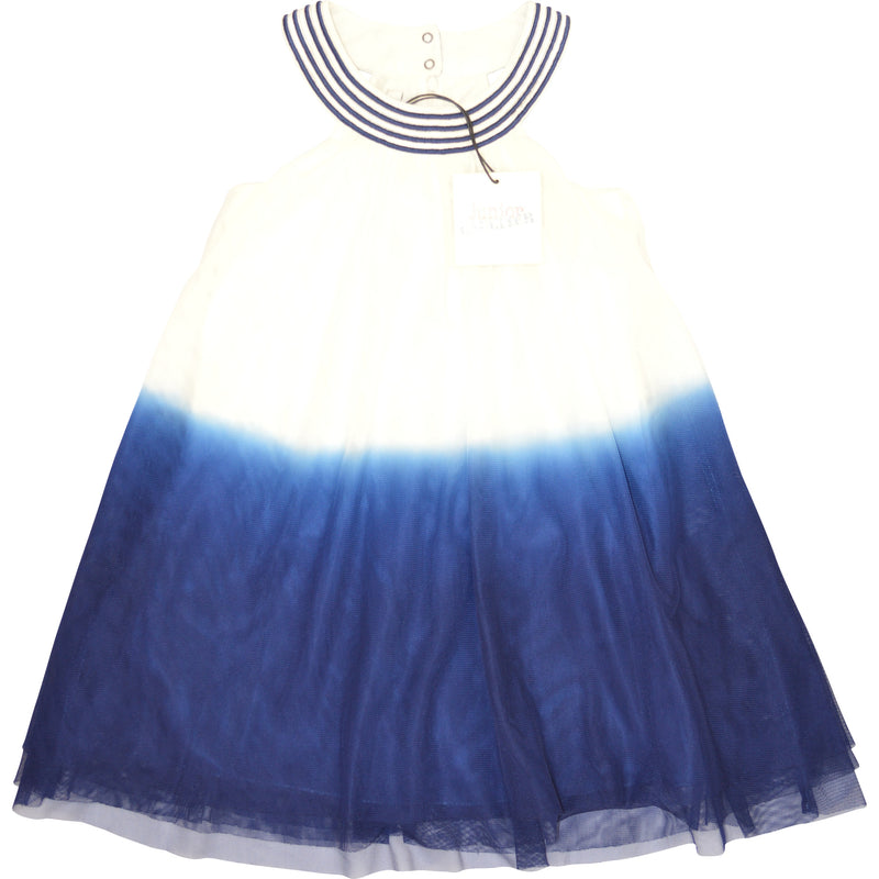 Junior Gaultier Round Neck Net Dress