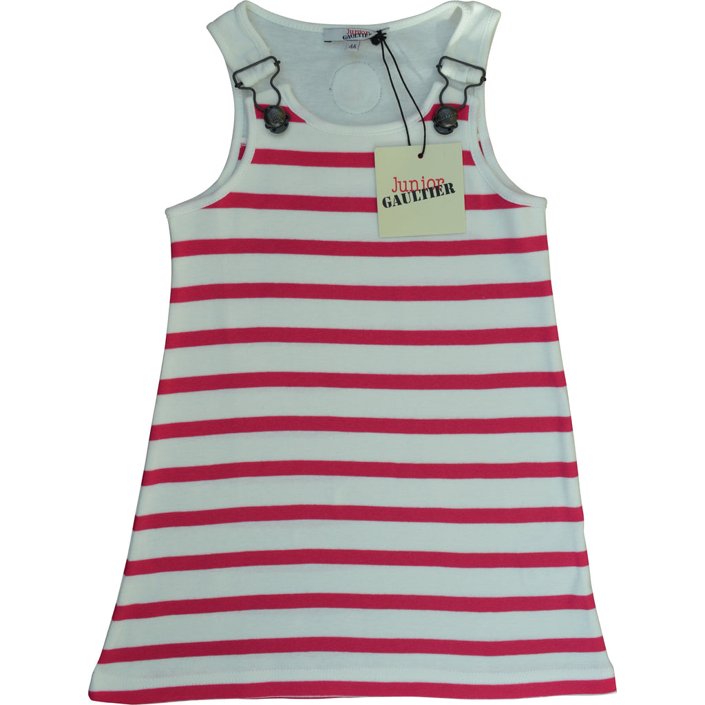 Junior Gaultier Sailor Striped Dress
