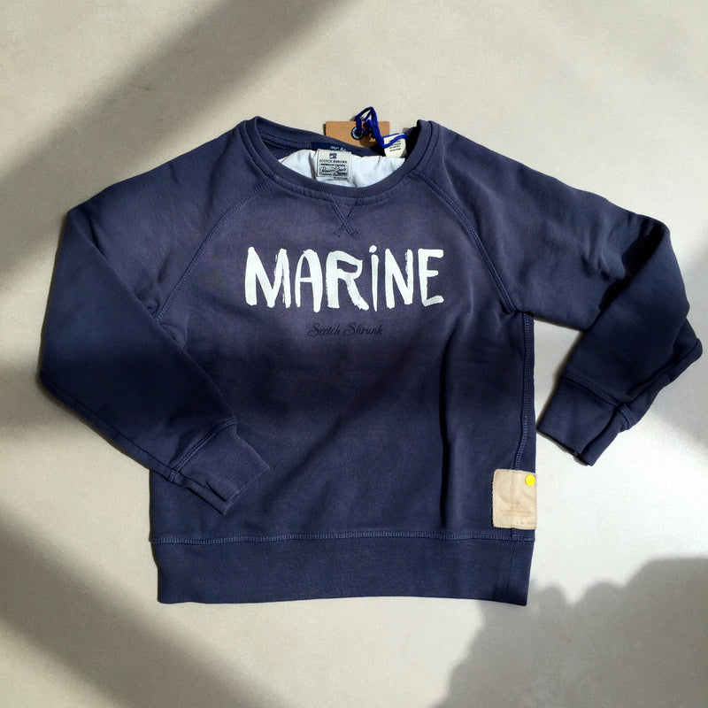 Scotch Shrunk Marine Sweatshirt