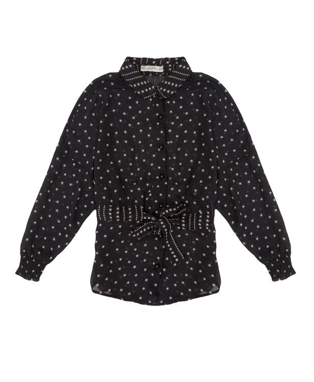 Supertrash Star Print Blouse