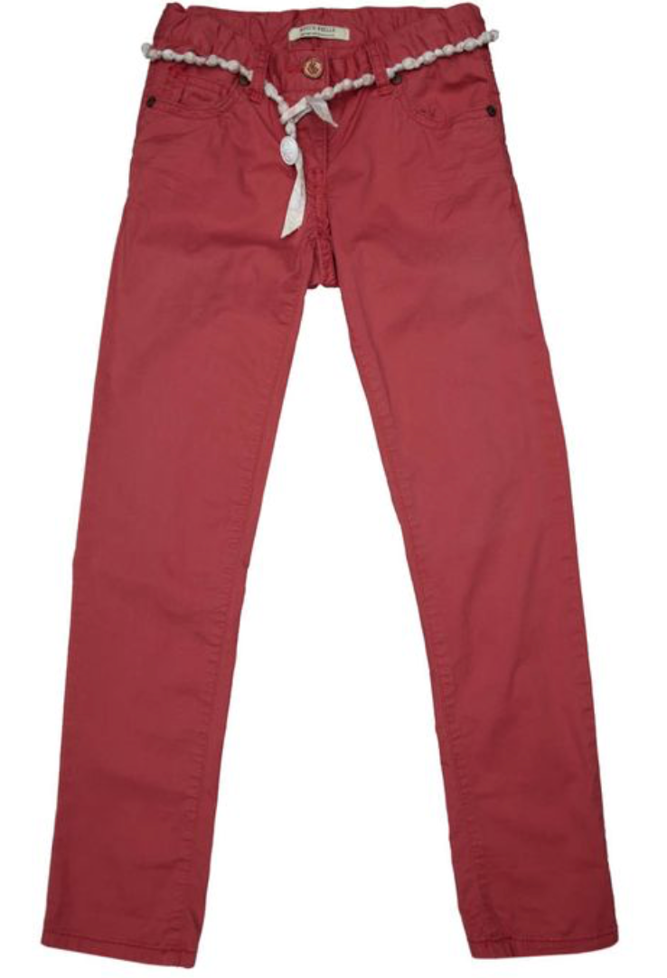 Scotch R'Belle Belted Chinos (Red or Beige)