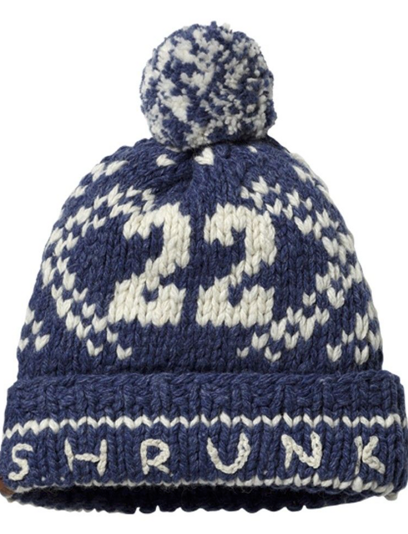 Scotch Shrunk Knitted Bobble Hat