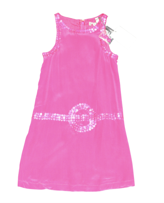 Dino e Lucia Pink Sequin Dress