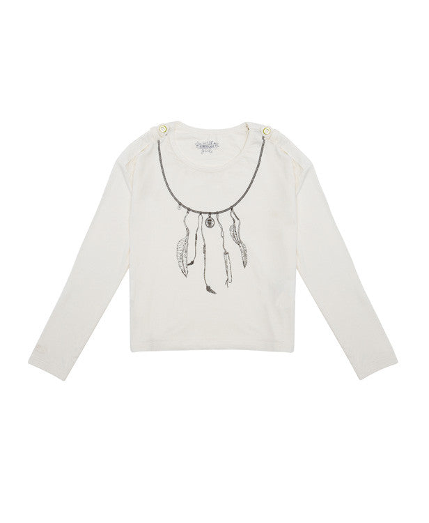 Supertrash Feather Top.