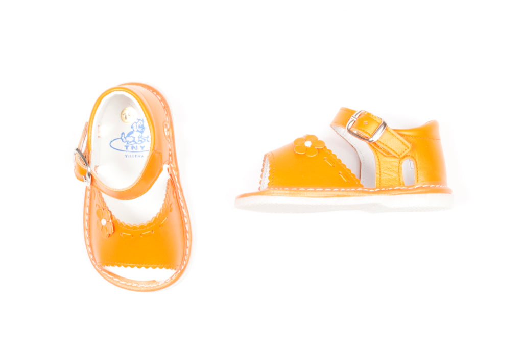 Tinny Orange Sandal