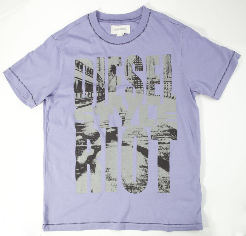 Diesel Purple T-Shirt