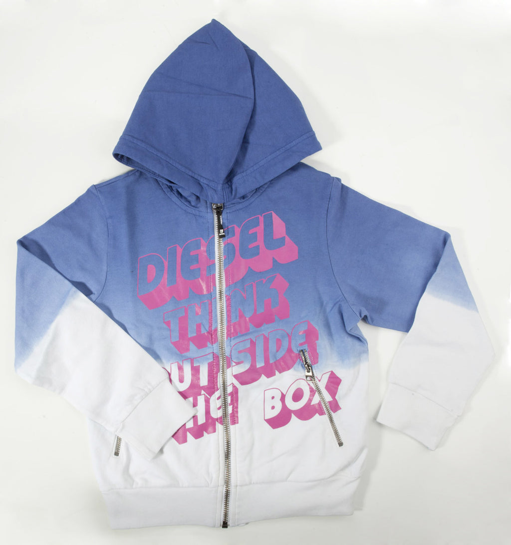 "Diesel ""Think Outside The Box"" Hoodie - Children's Fashion Outlet"