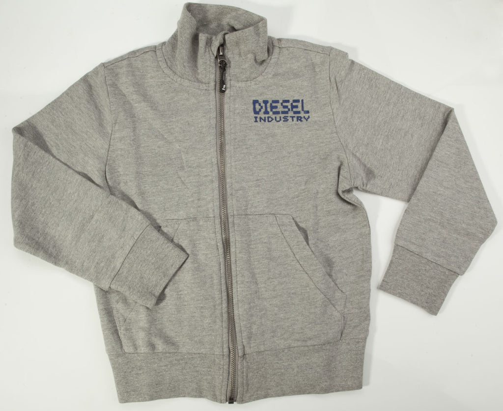 Diesel Grey Sweater - Children's Fashion Outlet