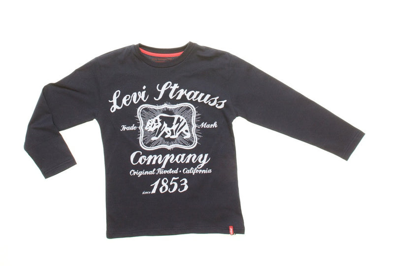 Levi's Navy Polo Bear Top