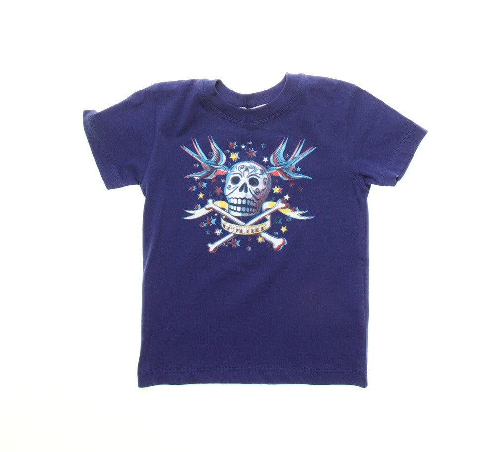 Junior Gaultier Skull 3D T-Shirt