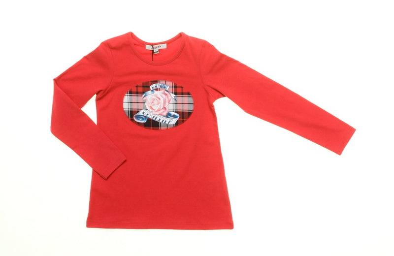 Junior Gaultier Long Sleeved Love Gaultier T-shirt