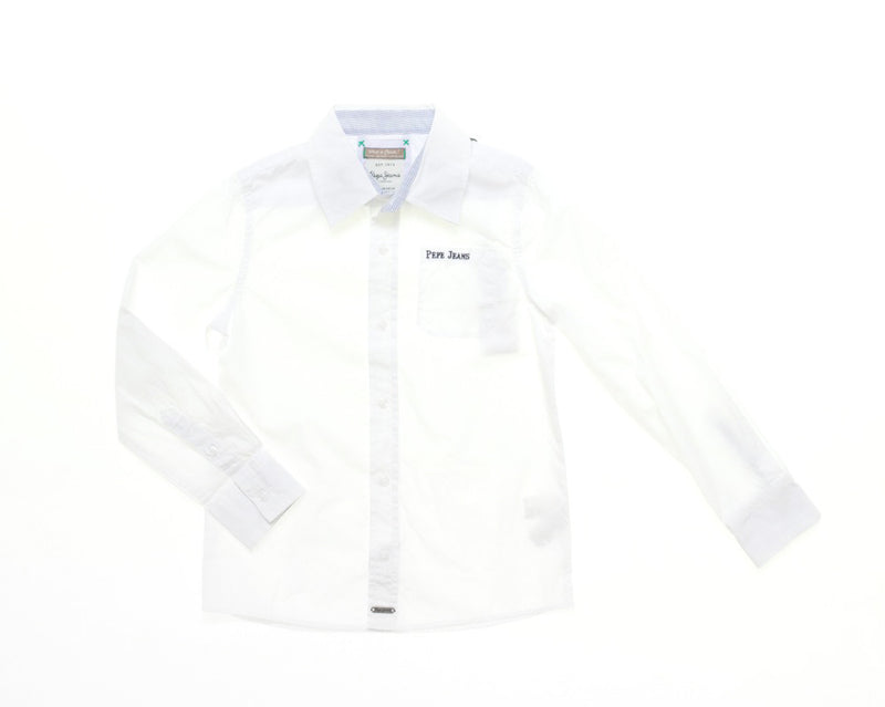 Pepe Jeans Boys White Shirt