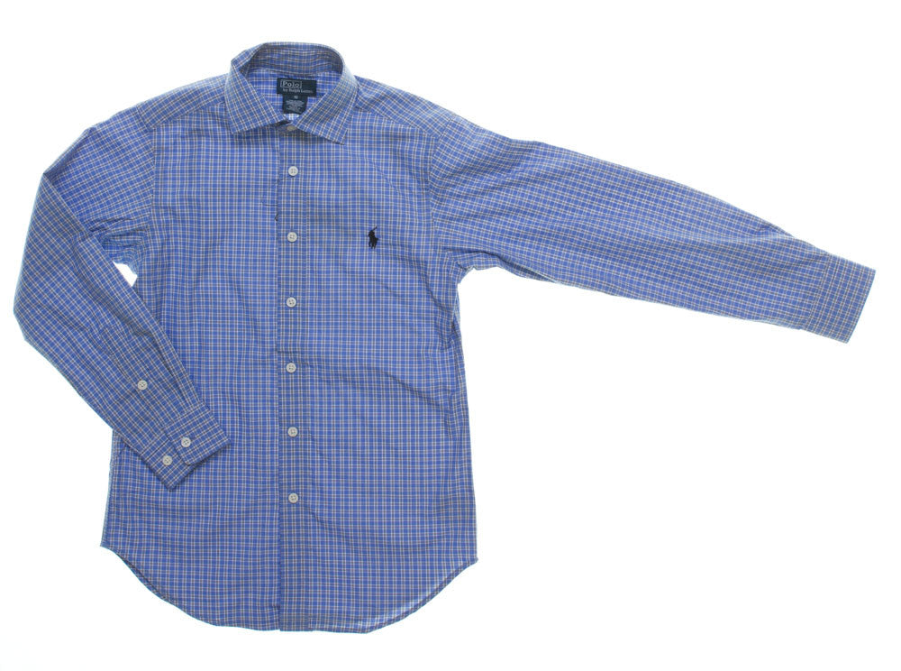 Ralph Lauren Blue Check Shirt