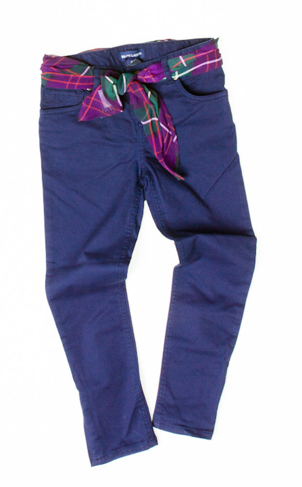 Ralph Lauren Girls Pocketed Trousers
